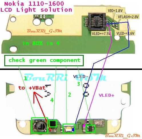 1110-1600LCDLightproblem